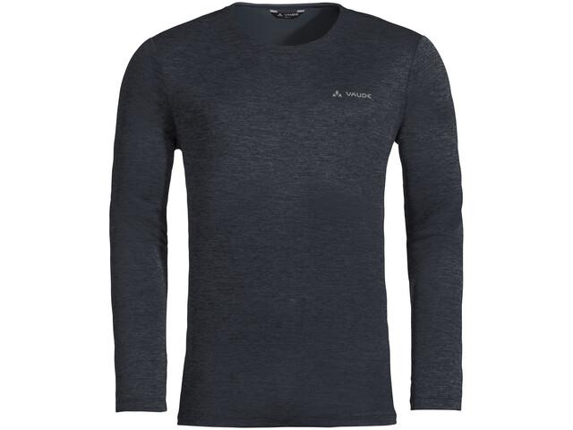 VAUDE Essential Langarm T-Shirt Herren phantom black